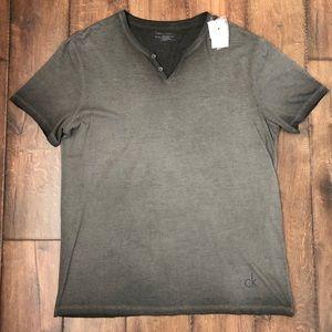 Calvin Klein Gray shirt